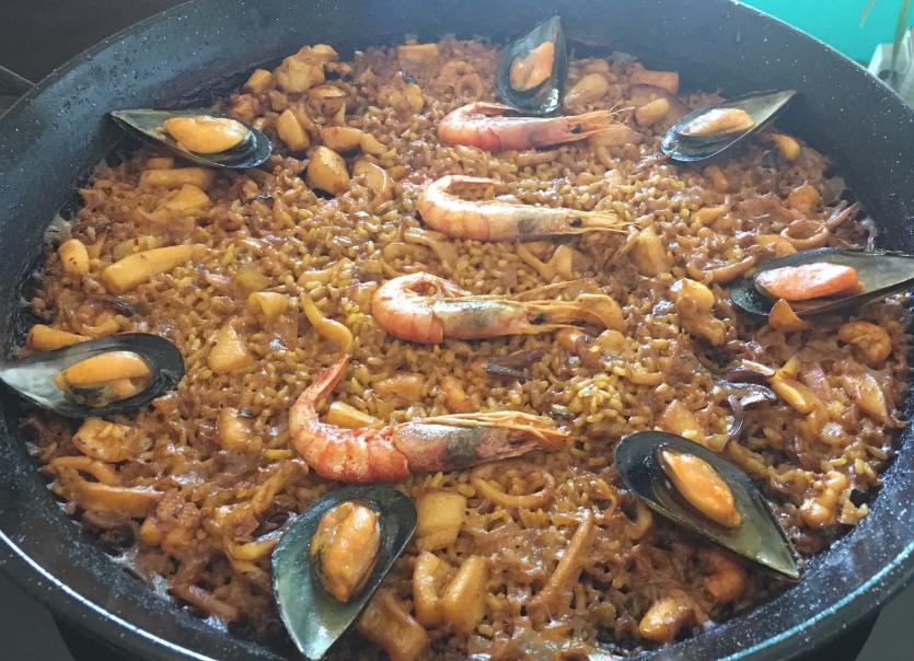 Seafood Paella recipe